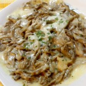 maitake-cheese