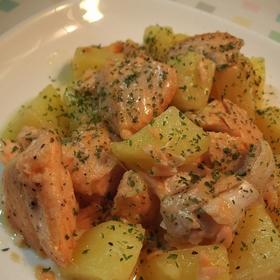 salmon-potato-butter